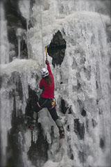 ice climbing event