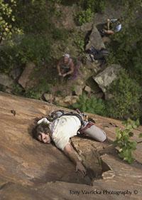 sandstone mn climbing
