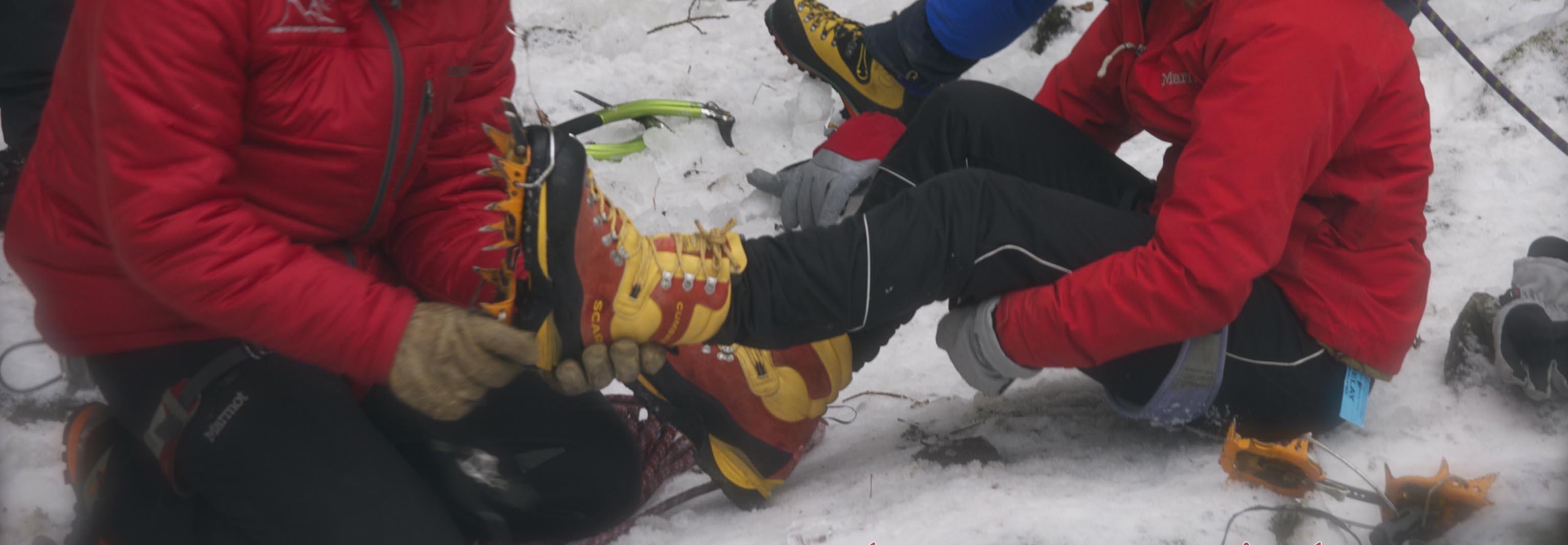 Ice Climbing Clinics
