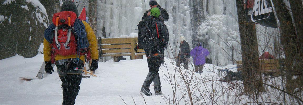 Ice Park Access